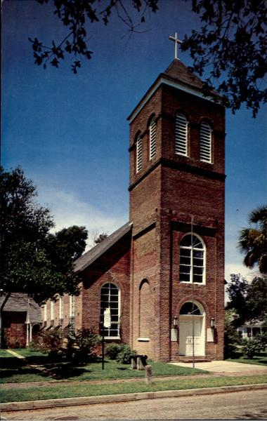 Old Christ Church, Seville Square Pensacola Florida