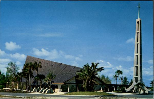 The New Sunny Isles Lutheran Church, Collins Avenue at 178th Street Miami Florida