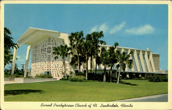 Second Presbyterian Church Of Ft. Lauderdale Fort Lauderdale Florida