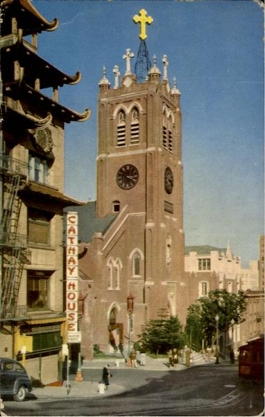 St. Mary's Church, Chinatown San Francisco California