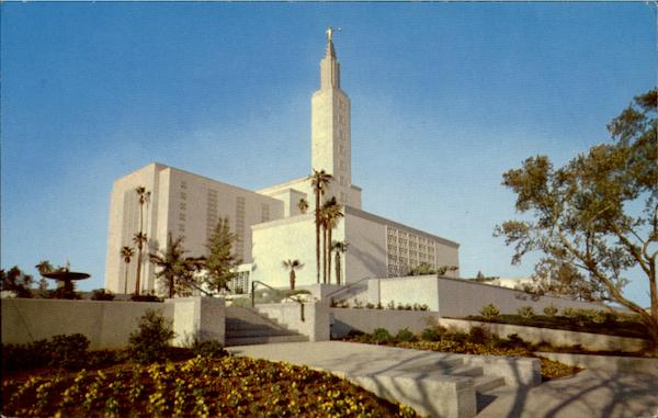 Latter Day Saints Temple Beverly Hills California