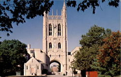 Memorial Tower And Green Chapel, University Of Missouri