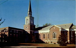The First Baptist Church Postcard