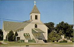 St. Anne's Catholic Church Postcard