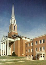 Campbellsville Baptist Church, 420 North Central Avenue