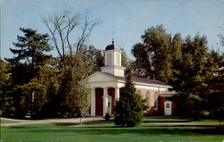 Hanover College Memorial Chapel Postcard