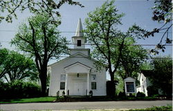 Long Grove's Country Church Postcard