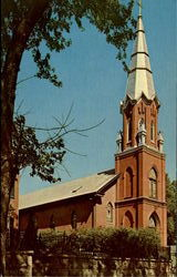 St. Matthew's Evangelical Lutheran Church Postcard