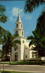 Trinity By The Cove Episcopal Church, Port Royal Postcard