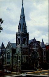Union Congregational Church Postcard