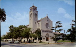 Saint Monica's Church, 7th Street And California Avenue Postcard