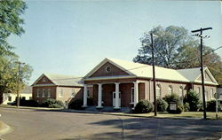 Eutaw Baptist Church, Main At Wilson Avenue Postcard
