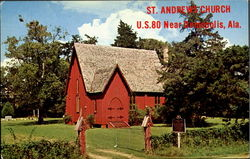 St. Andrews Church, U.S. 80 near Demopolis
