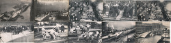 Lot of 10: SS Eastland Disaster 1915 Postcard
