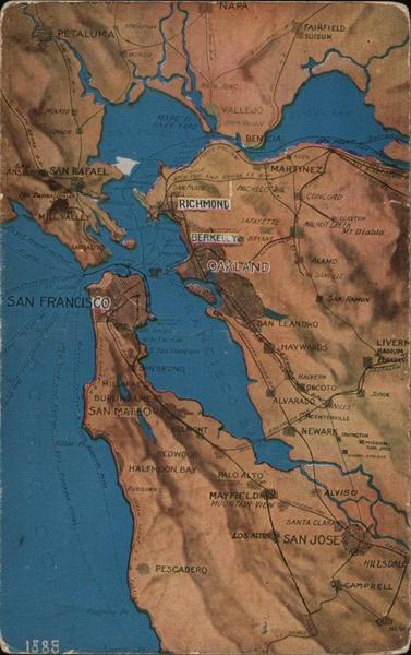 San Francisco Bay and Surrounding Area California