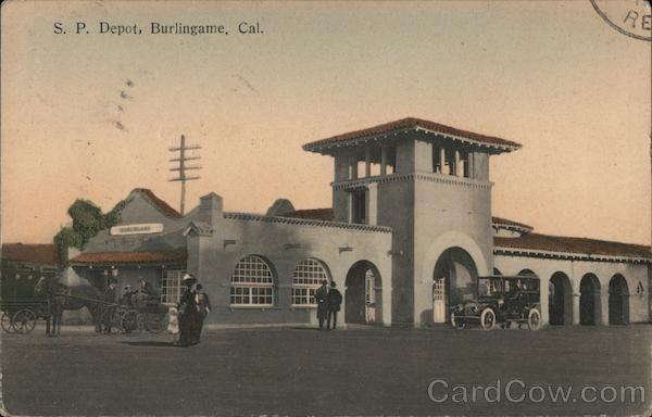 Southern Pacific Depot Burlingame California