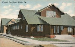 Woman's Club House Postcard