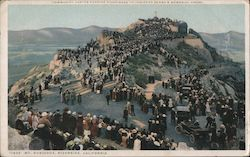 Mt Rubidoux, Community Easter Sunrise Pilgrimage Postcard