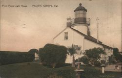 Point Pinos Light House Postcard