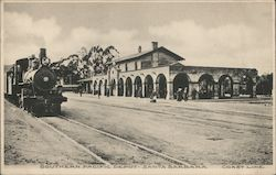 Southern Pacific Depot - Coast Line Postcard