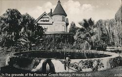 In the Grounds of the Fancher Creek Nursery Postcard