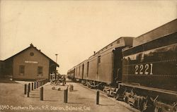 Southern Pacific Railroad Station Postcard