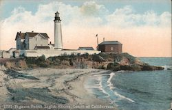 Pigeon Point Light House, Coast of California