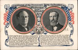 Candidates of the Democratic Party for President and Vice President of United States 1909-13