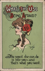 What's The Use of Being Afraid? Postcard