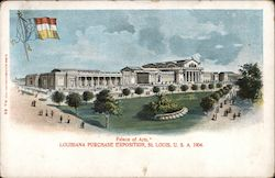 Palace of Arts - Louisiana Purchase Exposition, St. Louis USA 1904 Postcard