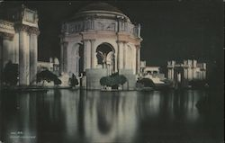 Palace of Fine Arts, Night Vision Postcard