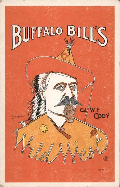 Buffalo Bills' Col. WF Cody Cowboy Western