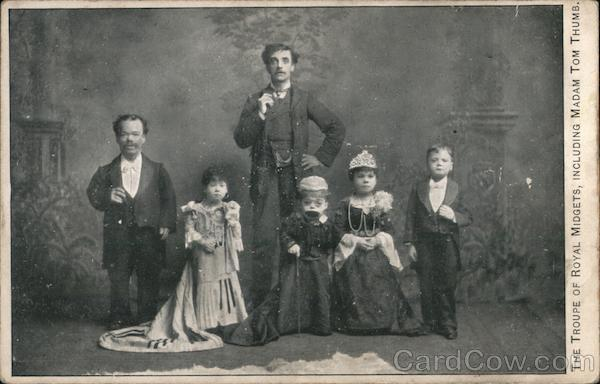 The Troupe of Royal Midgets, Including Madam Tom Thumb.