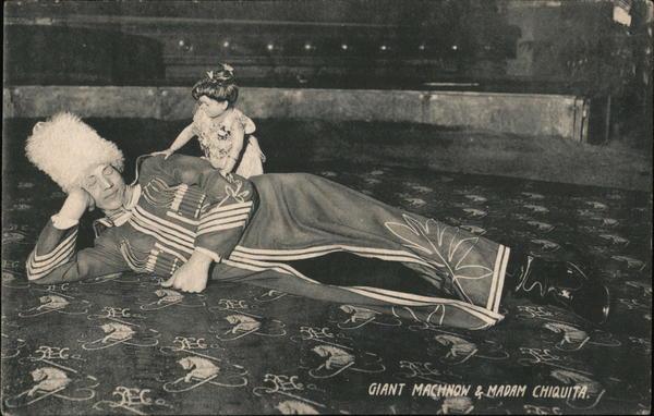 Giant Machnow & Madam Chiquita Circus