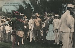 """In the Philippines"" - Surrender at Zambooanga Postcard"