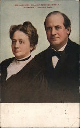 Mr. and Mrs. William Jennings Bryan