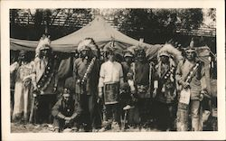 Indians with Ringling Brothers Circus 1925