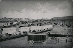 Winter Quarters of the Barnum and Bailey Circus (Reproduction) Postcard