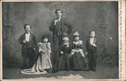 The Troupe of Royal Midgets, Including Madam Tom Thumb. Postcard