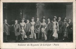 Souvenir du Royaume de Lilliput Paris Postcard