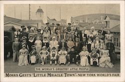 The World's Greatest Little People Postcard