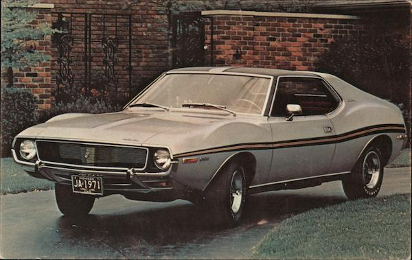 1971 Javelin SST - American Motors Cars