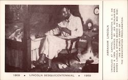 1809 Licoln Sesquicentennial 1959 Postcard