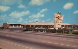 Howard Hughes Motor Lodge Postcard
