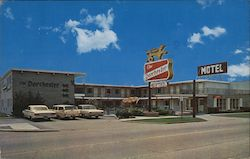 The Dorchester Motel Postcard