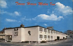 Towne House Motor Inn Restaurant and Lounge, 100 North Beacon Street Postcard
