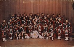 Kiltie band Postcard