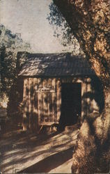 Mark Twain's Cabin, Mother Lode Country Postcard