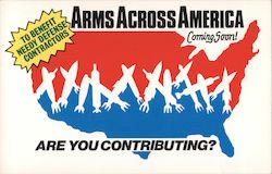 Arms Across AMerica Postcard