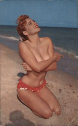 The Sun Shines Bright color photo by Bunny Yeager Postcard